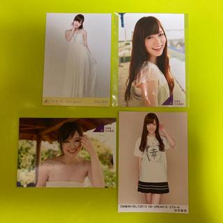 【再値下げ】乃木坂46 生写真 白石麻衣 まいやん 4枚セット
