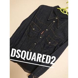 ディースクエアード(DSQUARED2)の【新品未使用タグあり】Dsquared2デニムシャツ(シャツ)