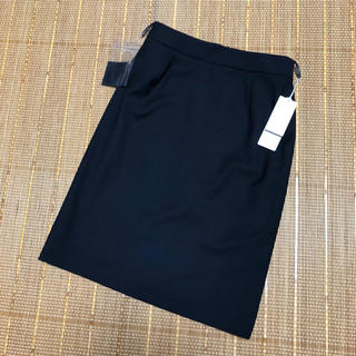 スーツカンパニー(THE SUIT COMPANY)のザ スーツカンパニー 膝丈タイトスカート 紺 制服 スーツ(スーツ)