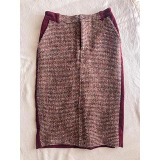 ローズバッド(ROSE BUD)のcoqule タイト ペンシル スカート(ひざ丈スカート)
