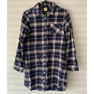 エージーバイアクアガール(AG by aquagirl)のチェックシャツ(シャツ/ブラウス(長袖/七分))
