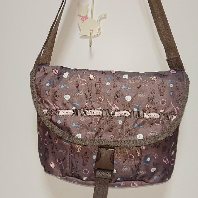 LeSportsac(レスポートサック)の美品☆LeSportsac 日本限定柄 メッセンジャーバック♪ レディースのバッグ(ショルダーバッグ)の商品写真