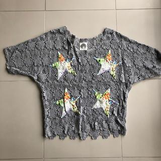 スカラー(ScoLar)のスカラー レース編み半袖(シャツ/ブラウス(半袖/袖なし))