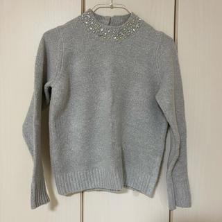 ヴィス(ViS)のVIS プチハイネックセーター グレー(ニット/セーター)