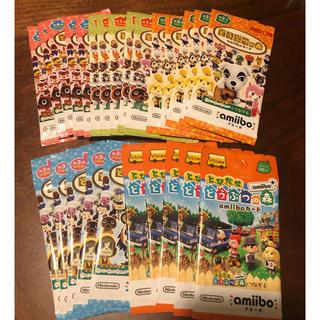 Nintendo Switch - どうぶつの森amiiboカード25パック★新品未開封★アミーボカード1234+