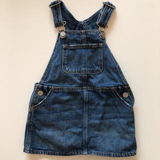 babyGAP - 【baby GAP】デニム ジャンパースカート