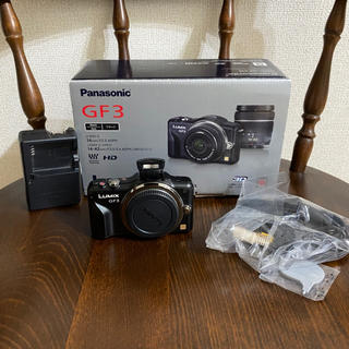 Panasonic - Panasonic DMC−GF3 DMC-GF3-K 本体のみ!