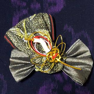 専用 畳縁の髪飾り 3点(ヘアアクセサリー)
