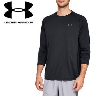 アンダーアーマー(UNDER ARMOUR)のUNDER ARMOUR  テック ロングスリーブ Tシャツ ブラック LG(Tシャツ/カットソー(七分/長袖))