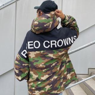 ロデオクラウンズワイドボウル(RODEO CROWNS WIDE BOWL)の新品 迷彩(男女兼用)早い者勝ちノーコメント即決しましょう❗️でも同梱で値引き可(ナイロンジャケット)