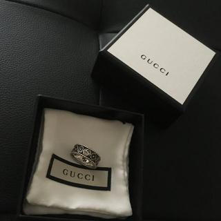 グッチ(Gucci)の値下げ GUCCI フラワー リング 17号(リング(指輪))