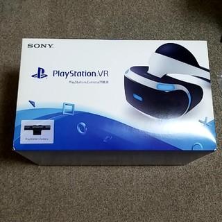 プレイステーションヴィーアール(PlayStation VR)のPSVR CUHJ-16001 カメラ同梱版(家庭用ゲーム機本体)