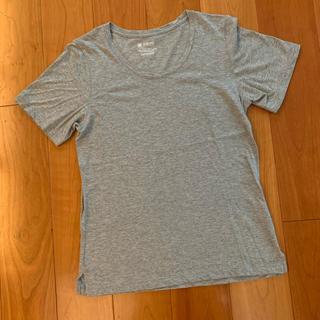 ナノユニバース(nano・universe)のグレー Tシャツ(Tシャツ(半袖/袖なし))