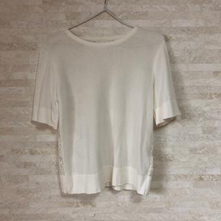 GRACE CONTINENTAL -  半袖 レース グレイス tシャツ