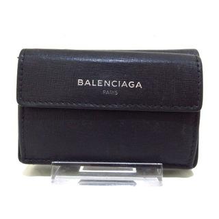 バレンシアガ(Balenciaga)のバレンシアガ 3つ折り財布 410133 黒(財布)