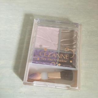 CEZANNE(セザンヌ化粧品) - セザンヌ エアリータッチシャドウ 05 スミレブラウン(3.8g)