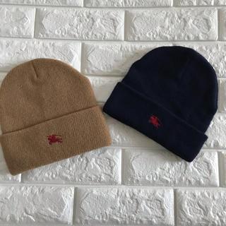 バーバリー(BURBERRY)のBurberryニット帽(帽子)