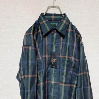 ハレ(HARE)のカシミヤシャツ 90s vintage チェックシャツ ネルシャツ(シャツ)