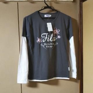 フィラ(FILA)のFILA重ね着風長袖Tシャツ(Tシャツ(長袖/七分))
