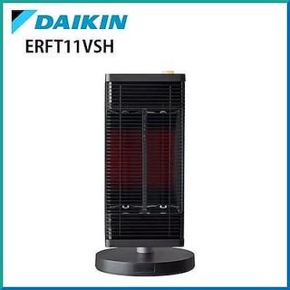 ダイキン(DAIKIN)の新品未開封  セラムヒート  ERFT11VS-H  ダークグレー (電気ヒーター)