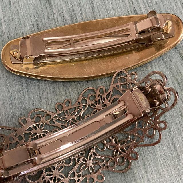 Lochie(ロキエ)のヴィンテージバレッタ各種 レディースのヘアアクセサリー(バレッタ/ヘアクリップ)の商品写真
