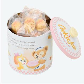 クッキーアン ★  チョコレートクランチ 缶入り ダッフィー