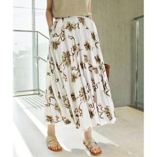 IENA - 4万9500円 IENA LA BOUCLE フラワー刺繍 スカート