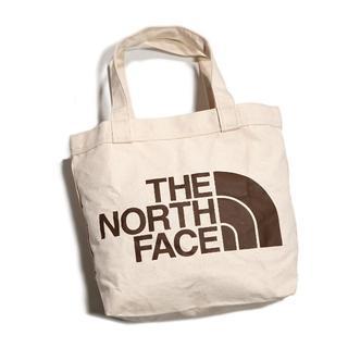 THE NORTH FACE - ノースフェイス ★ ベージュ トートバッグ エコバッグ ロゴ 男女兼用