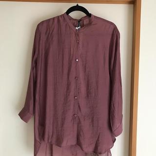 しまむら - しまむら シアーロングシャツ