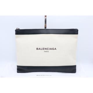 Balenciaga - 《BALENCIAGA/クラッチバッグ》ABランク ブラック ホワイト 袋 美品