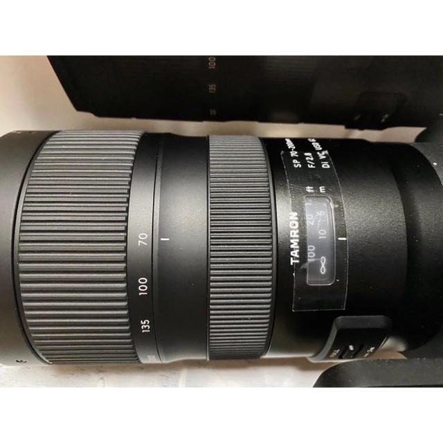 Nikon(ニコン)のTAMRON タムロン SP 70-200mm F2.8 Di VC USD スマホ/家電/カメラのカメラ(レンズ(ズーム))の商品写真