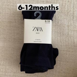 ザラキッズ(ZARA KIDS)のザラベビー タイツ zara baby ベビータイツ リブ(靴下/タイツ)