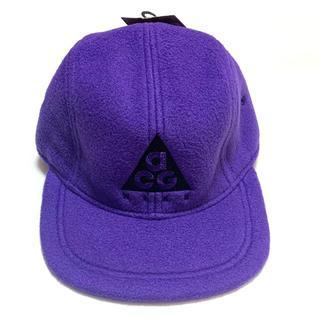NIKE - 新品 ナイキ ACG アジャスタブル ハット キャップ 帽子 パープル フリース
