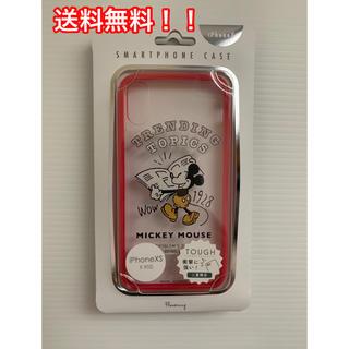 Disney - iPhoneケース ミッキーマウス  [iPhone XS/X用]