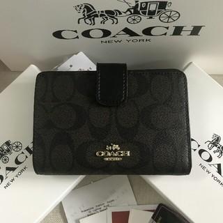 COACH - 新品COACH コーチ 二つ折り財布 F53562 正規品 アウトレット