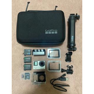 ゴープロ(GoPro)のGopro hero4 silver セット(コンパクトデジタルカメラ)