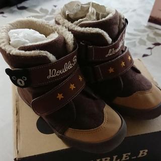ダブルビー(DOUBLE.B)のミキハウス【ダブルB  ブーツ】16.0(ブーツ)