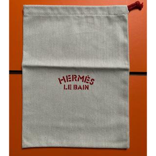 エルメス(Hermes)の新品未使用 エルメス LE BAIN 巾着 赤(ポーチ)