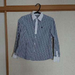 コムサデモード(COMME CA DU MODE)のコムサ エンジェル 130cm 長袖シャツ(ブラウス)