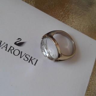 スワロフスキー(SWAROVSKI)のリングサイズ55◇SWAROVSKIスワロフスキー◇クリア×シルバー(リング(指輪))