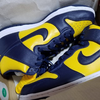 NIKE - NIKE Dunk High SP Michigan