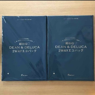 DEAN & DELUCA - ゼクシィ 11月号 付録 DEAN&DELUCA 超ビッグ2wayエコバッグ2個