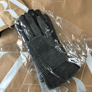 ZARA - ZARA.ZARA手袋♪ ザラギンガムチェック.新品未使用品