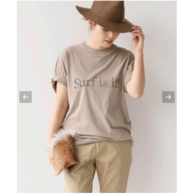 DEUXIEME CLASSE(ドゥーズィエムクラス)のドゥーズィエムクラス surf is it Tシャツ レディースのトップス(Tシャツ(半袖/袖なし))の商品写真