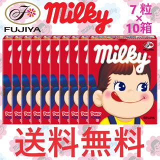 フジヤ(不二家)の不二家 ミルキー 7粒 × 10箱 70粒(菓子/デザート)