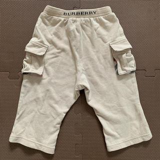 バーバリー(BURBERRY)のBURBERRY ベージュパンツ 80cm(パンツ)