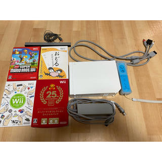 Wii - Wii一式とソフト4本セット