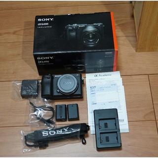 SONY - SONY α6400 使用極小の美品です