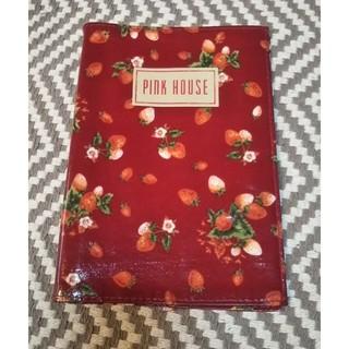 ピンクハウス(PINK HOUSE)のピンクハウス ブックカバー 手帳カバー  ストロベリー(その他)