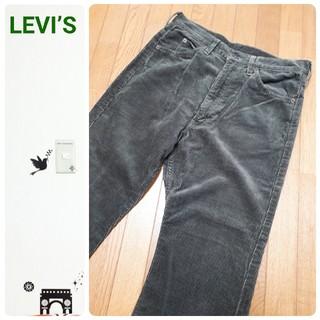 リーバイス(Levi's)のLEVI'S 激レア 80's 日本製 519コーデュロイパンツ グリーン(デニム/ジーンズ)